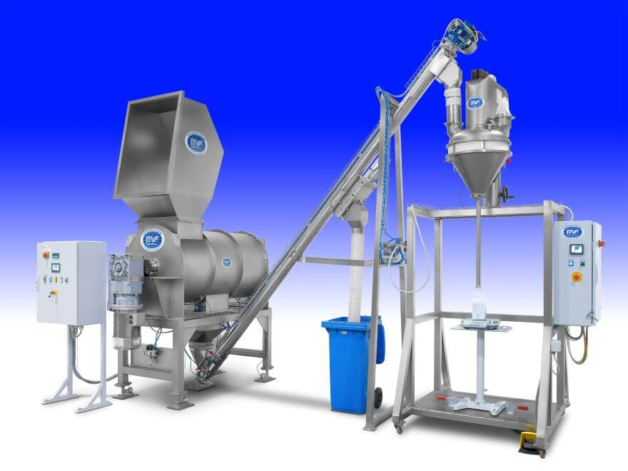 Vertical screw volumetric dosing machine 3